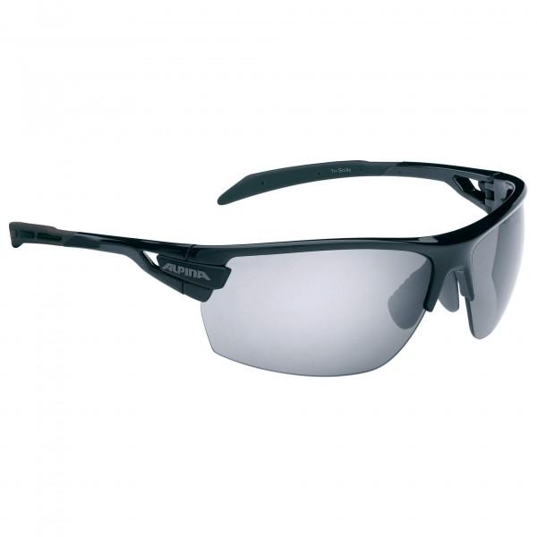 Alpina - TRI-Scray Black Mirror 3/Clear 0/Orange Mirror 2 - Cycling glasses
