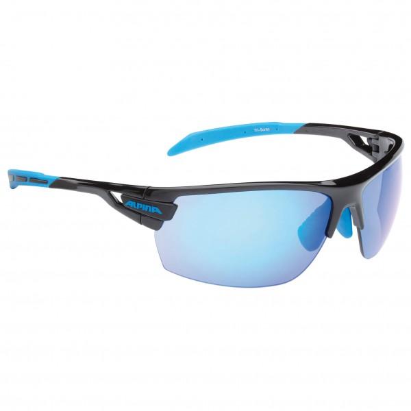 Alpina - TRI-Scray Blue Mirror 3/Clear 0/Orange Mirror 2 - Cycling glasses