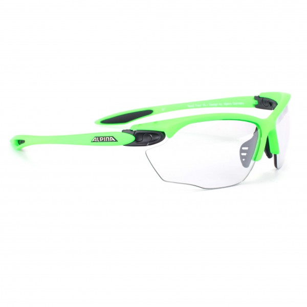 Alpina - Twist Four VL+ Varioflex Black 1-3 - Gafas de ciclismo
