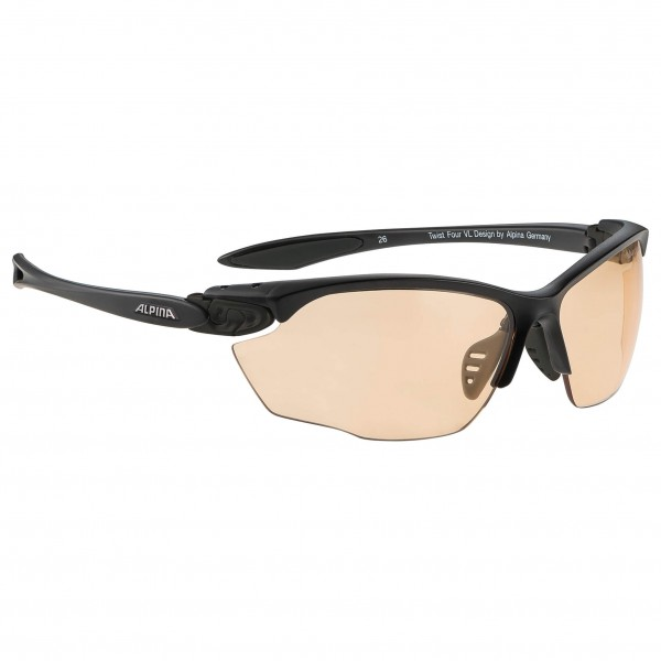 Alpina - Twist Four VL+ Varioflex Orange 1-3 - Fahrradbrille