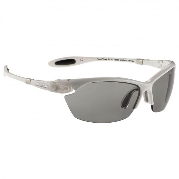 Alpina - Twist Three 2.0 VL Varioflex Black S2-3 - Cykelbriller