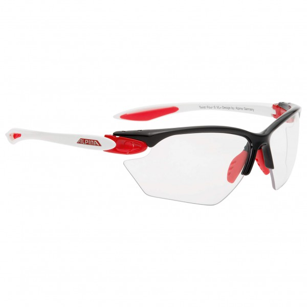 Alpina - Women's Twist Four S VL+ Varioflex Black 1-3 - Cykelbriller