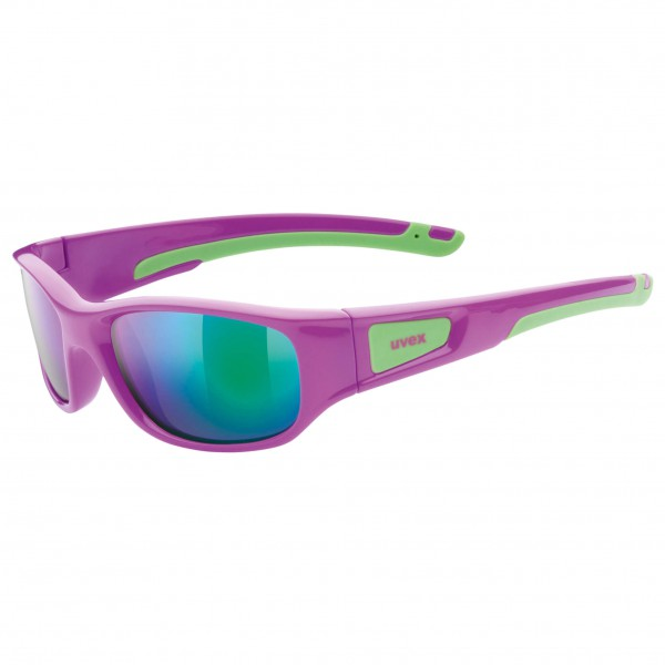 Uvex - Kid's Sportstyle 506 Mirror Green S3 - Sunglasses