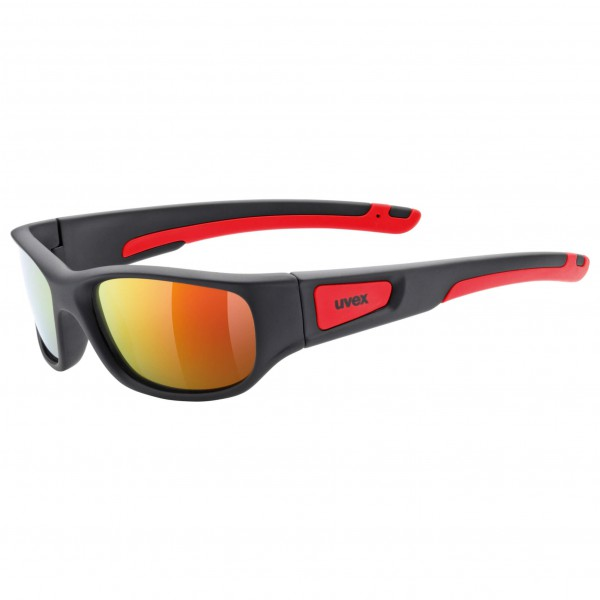 Uvex - Kid's Sportstyle 506 Mirror Red S3 - Zonnebril