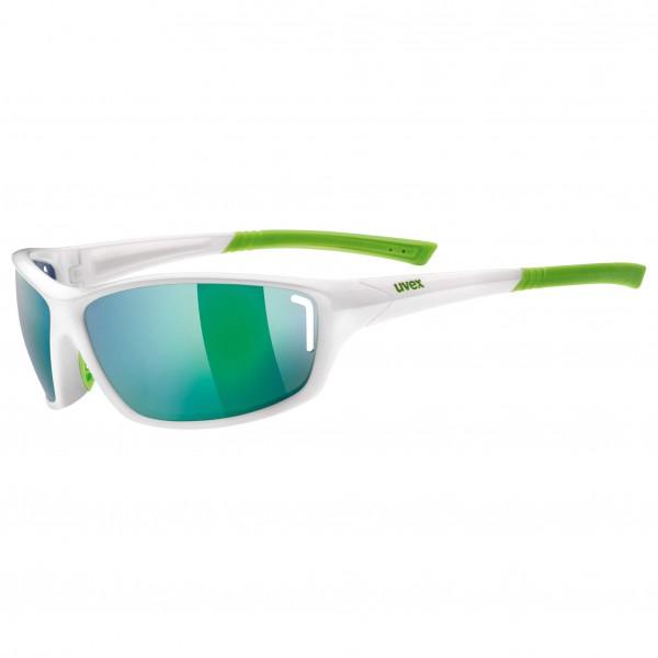 Uvex - Sportstyle 210 Mirror Green S3 - Fietsbril