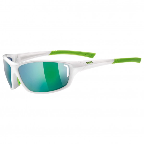 Uvex - Sportstyle 210 Mirror Green S3 - Lunettes de cyclisme