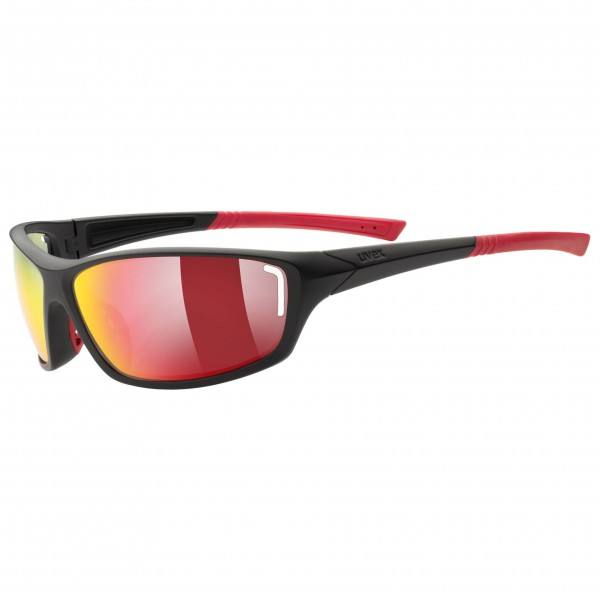 Uvex - Sportstyle 210 Mirror Red S3 - Fietsbril