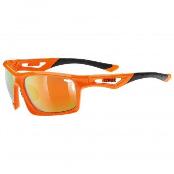 Uvex - Sportstyle 700 Mirror Orange S3 - Cycling glasses