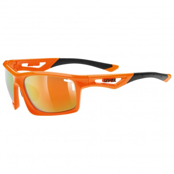 Uvex - Sportstyle 700 Mirror Orange S3 - Fietsbril
