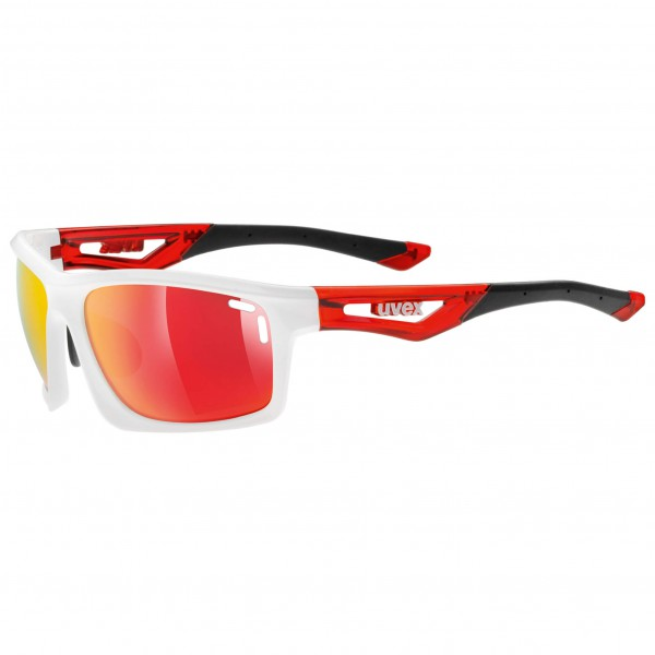 Uvex - Sportstyle 700 Mirror Red S3 - Fietsbril