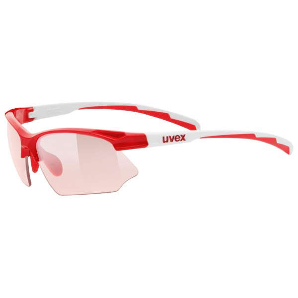 Uvex - Sportstyle 802 Vario Red S1-3 - Lunettes de cyclisme