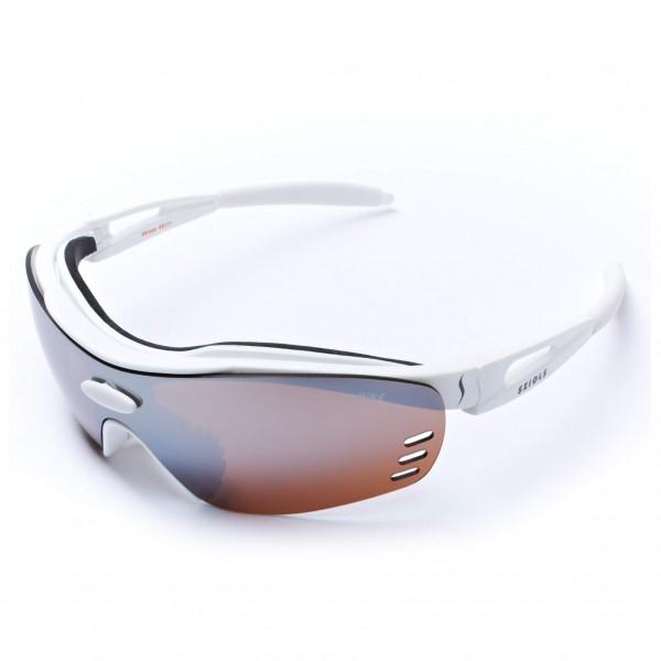 Sziols - X-Kross Biking Brown Mirror - Fietsbril