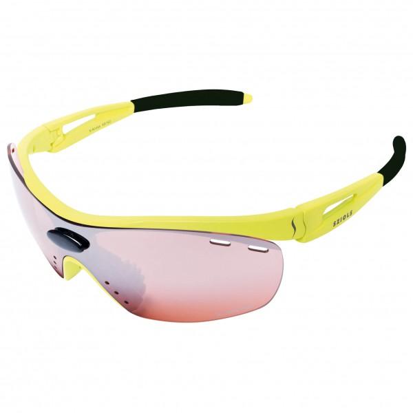 Sziols - X-Kross Running Red Mirror - Sport glasses
