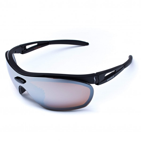 Sziols - X-Kross Winter Alpin Brown Mirror - Sportbrille