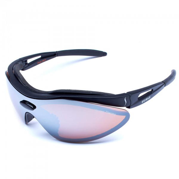 Sziols - X-Kross Winter Nordic Brown Mirror - Sportbril