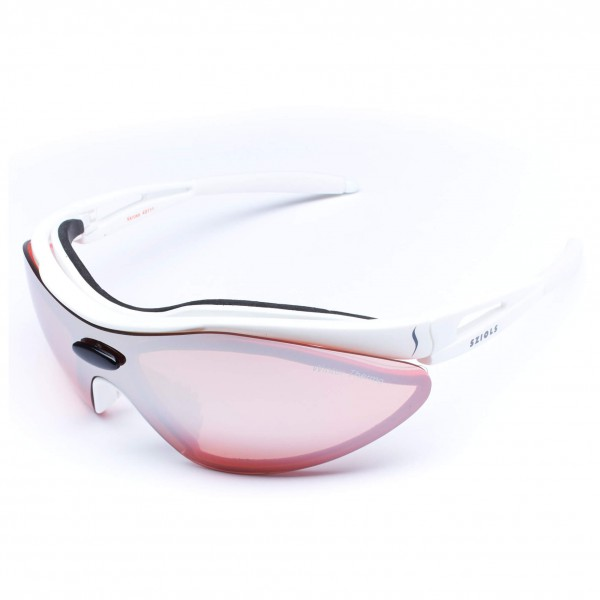 Sziols - X-Kross Winter Nordic Red Mirror - Sport glasses