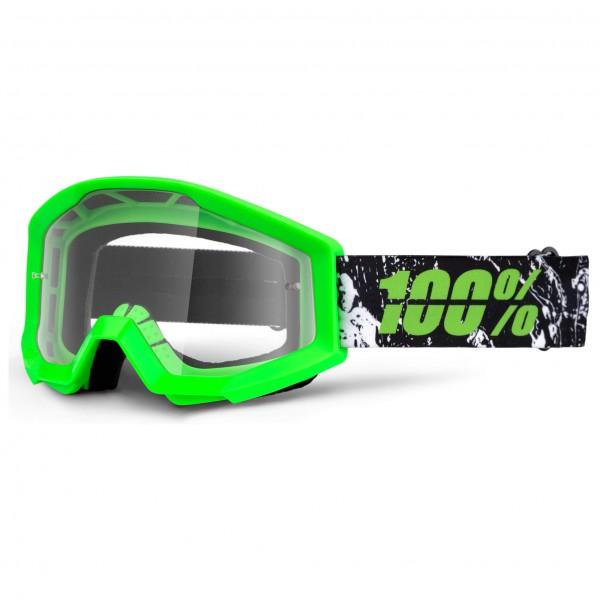 100% - Strata Anti Fog Clear - Pyöräilylasit