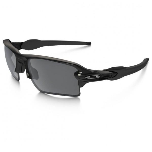 Oakley - Flak 2.0 XL Black Iridium Polarized - Solbriller