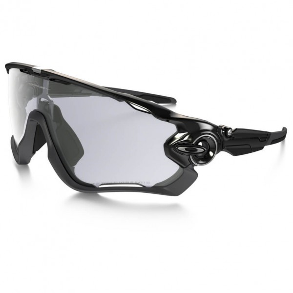 Oakley - Jawbreaker Clear Black Iridium Photocromatic