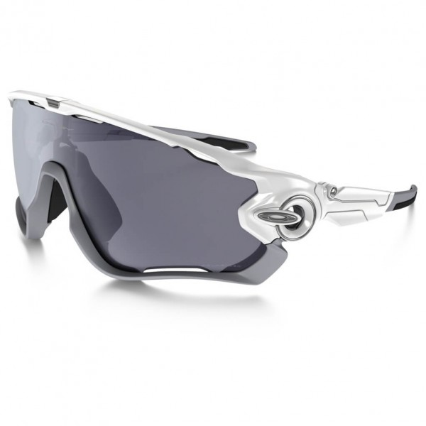 Oakley - Jawbreaker Grey Polarized - Cycling glasses