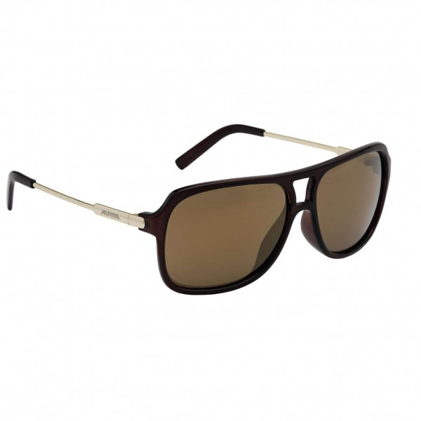 Alpina - A 112 Ceramic Mirror Gold S3 - Sunglasses