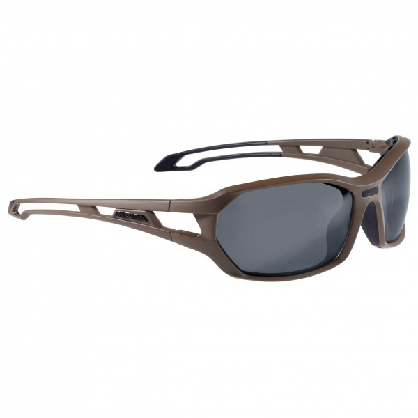 Alpina - Berryn CM+ Ceramic Mirror Fogstop Black S3 - Solbriller