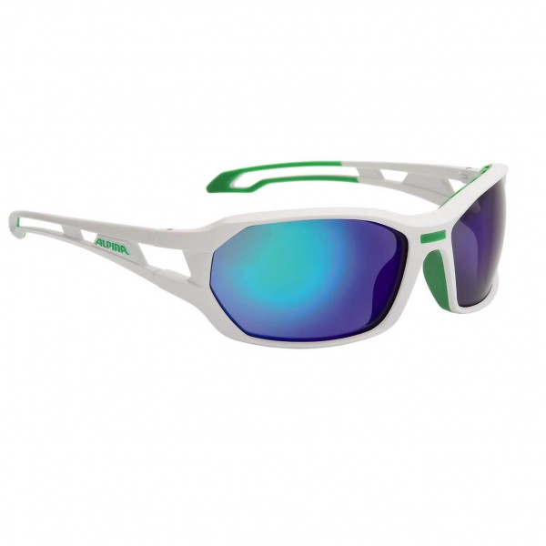 Alpina - Berryn CM+ Ceramic Mirror Fogstop Green S3 - Solbriller