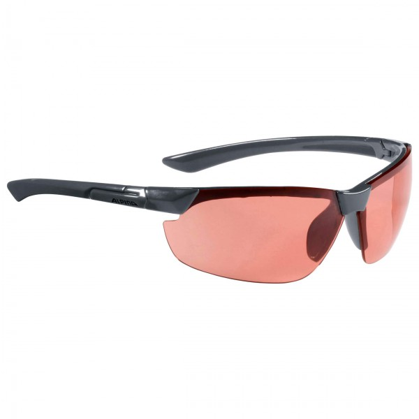 Alpina - Draff Ceramic Mirror Orange S1 - Cycling glasses