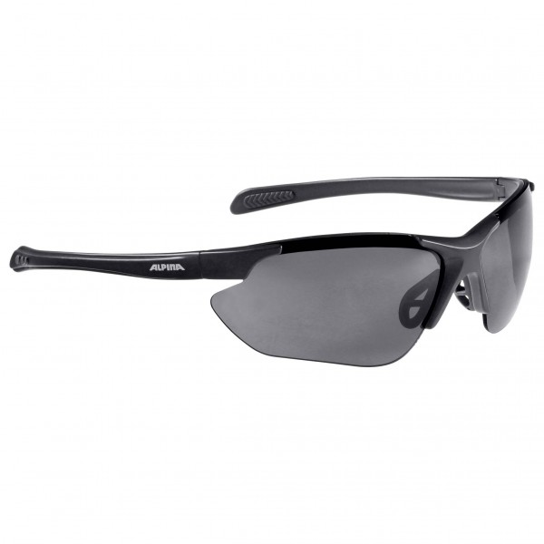 Alpina - Jalix Ceramic Mirror Black S3 - Cycling glasses