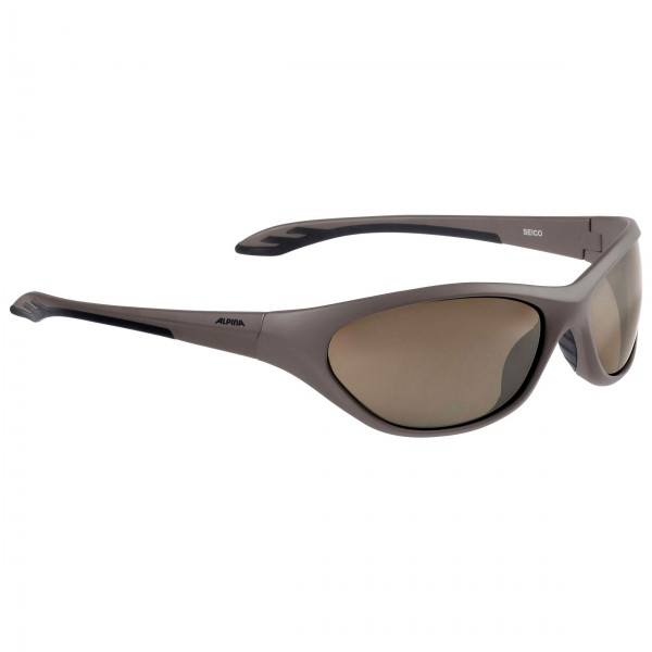 Alpina - Kid's Seico Ceramic Mirror Brown S3 - Sunglasses