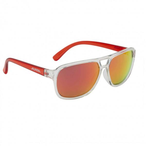 Alpina - Kid's Yalla Ceramic Mirror Red S3 - Sunglasses