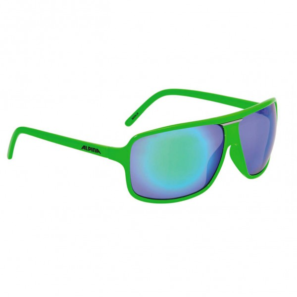 Alpina - Manja Ceramic Mirror Green S3 - Zonnebril