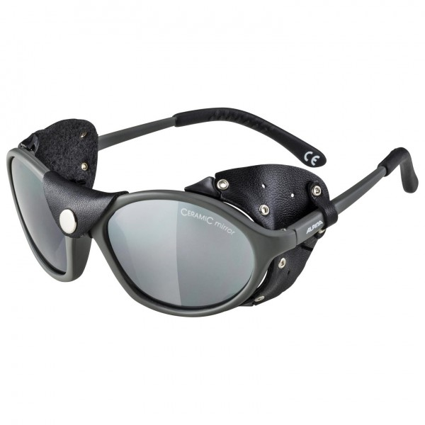 Alpina - Sibiria Ceramic Mirror Black S4 - Glacier glasses