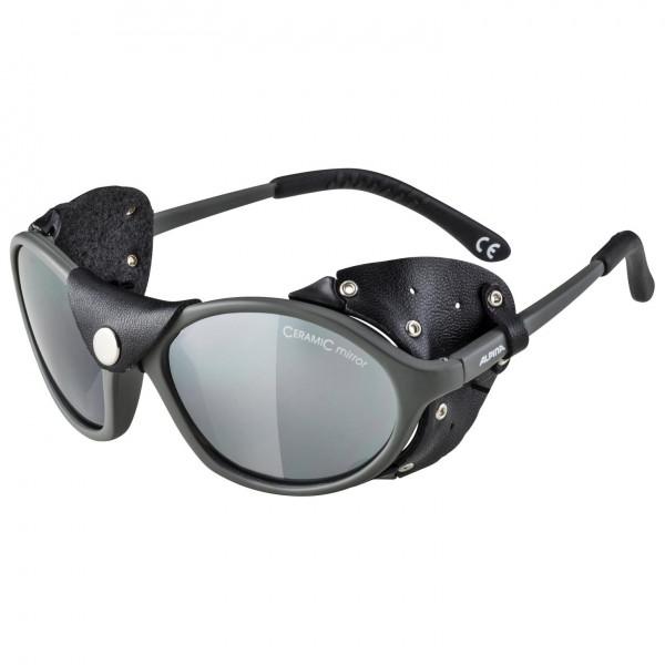 Alpina - Sibiria Ceramic Mirror Black S4 - Glacier glasses