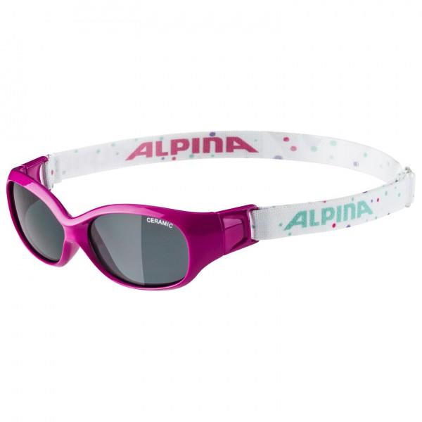 Alpina - Sports Flexxy Kids Ceramic Black S3 - Sunglasses