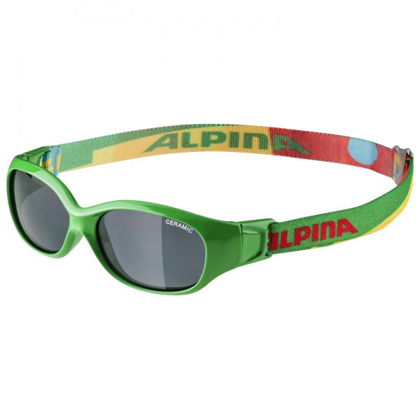Alpina - Sports Flexxy Kids Ceramic Black S3 - Sunglasses
