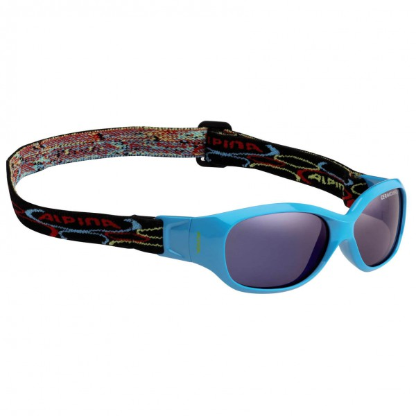 Alpina - Sports Flexxy Kids Ceramic Bluemirror S3 - Sunglasses
