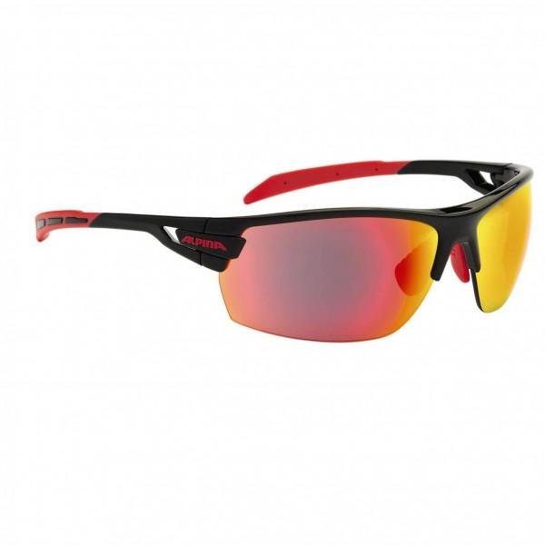 Alpina - Tri Scray Clear S0+Mirror Orange S2+Mirror Red S3