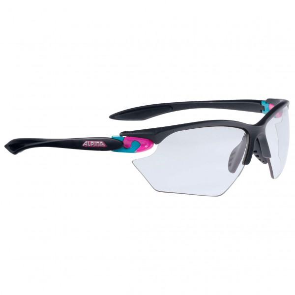 Alpina - Twist Four S VL+ Fogstop Black S1-S3 - Cycling glasses