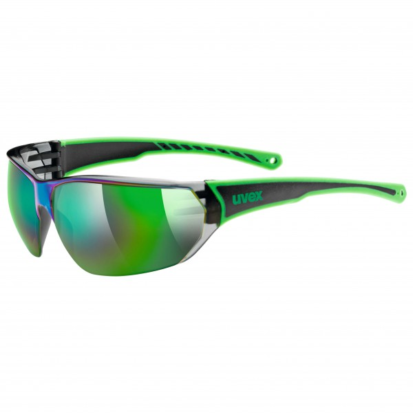 Uvex - Sportstyle 204 Mirror Green S3 - Sunglasses