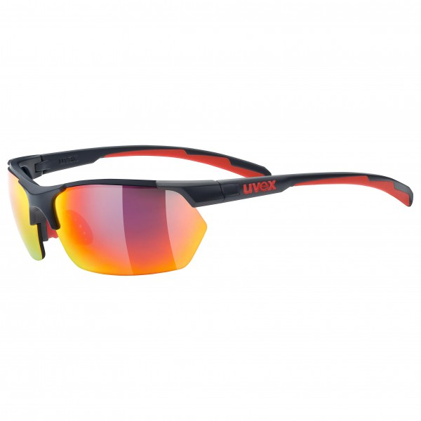 Uvex - Sportstyle 114 Mirror S3/Litemirror S1/Clear S0 - Cycling glasses