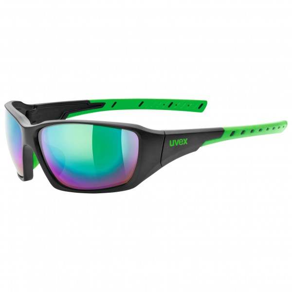 Uvex - Sportstyle 219 Mirror Green S3 - Lunettes de soleil