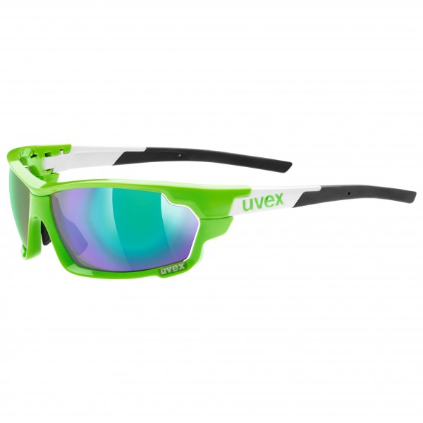 Uvex - Sportstyle 702 Mirror Green S3/LM Orange S1/Clear S0