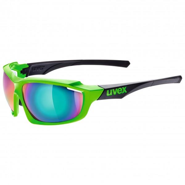 Uvex - Sportstyle 710 Mirror Green S3 - Lunettes de cyclisme