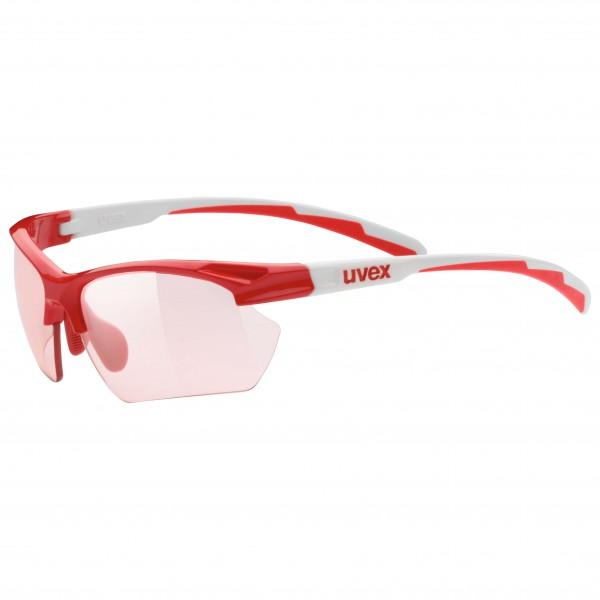 Uvex - Sportstyle 802 Sml Vario Red S1-3 - Lunettes de cycli