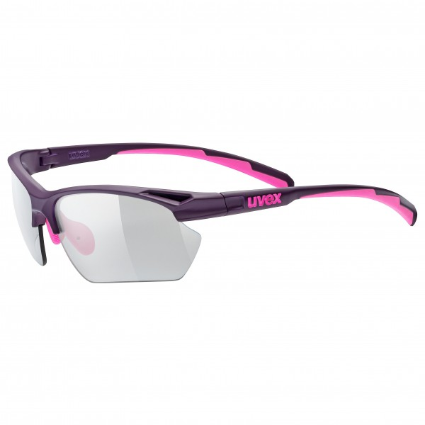 Uvex - Sportstyle 802 Sml Vario Smoke S1-3 - Lunettes de cyc