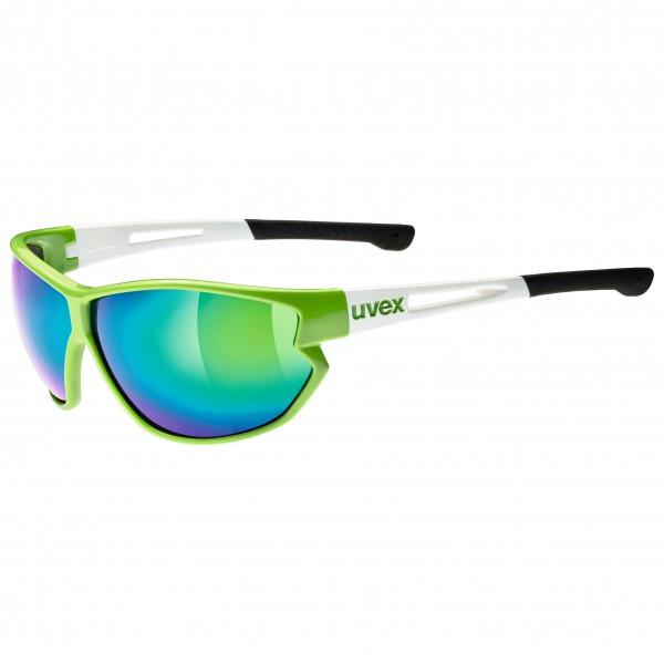 Uvex - Sportstyle 810 Mirror Green S3 - Aurinkolasit