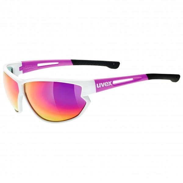 Uvex - Sportstyle 810 Mirror Pink S3 - Aurinkolasit