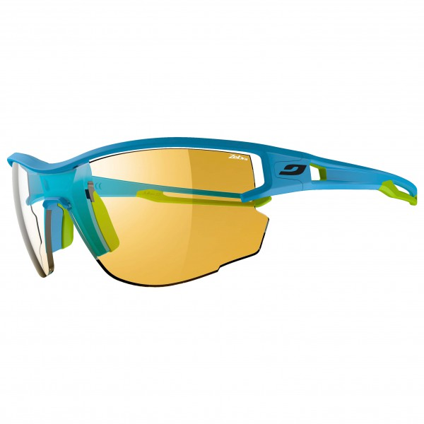 Julbo - Aero Yellow / Brown Zebra - Fahrradbrille
