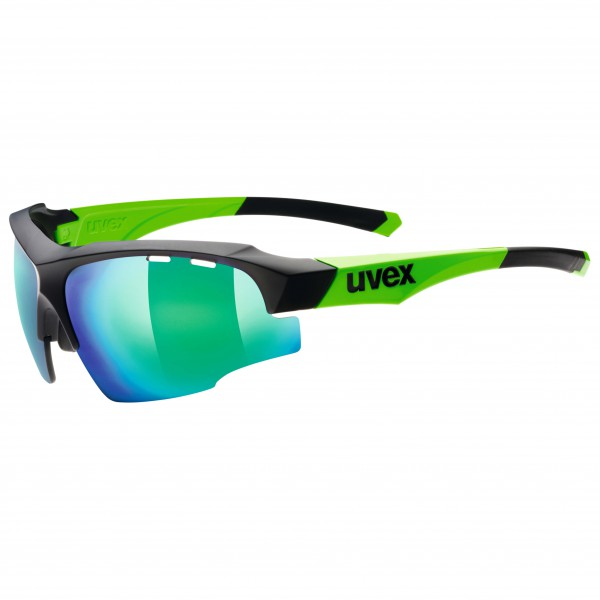 Uvex - Sportstyle 107 Clear+LM Orange+Mirror Green S0+1+3